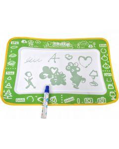 Covoras Aqua Doodle pentru Colorat si Desenat + Marker Waterpen, culoare Verde