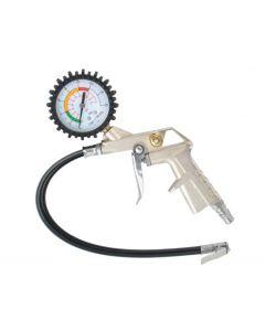 Pistol Umflat pentru Compresor cu Manometru si Furtun 35cm