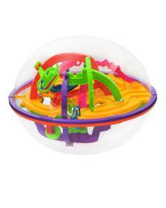 Jucarie pentru copii labirint 3D multicolor cu 209 obstacole