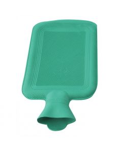 Termofor 2000ml - recipient cauciucat terapeutic pentru apa calda, culoare Verde