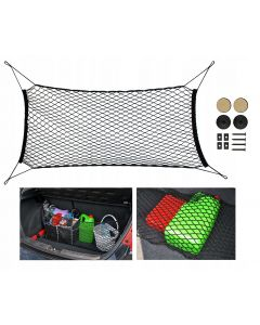 Plasa portbagaj auto pentru fixare bagaje, dimensiuni 110-170 / 42-110cm