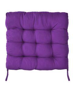 Perna scaun pentru curte sau gradina, dimensiuni 40x40cm, culoare Mov