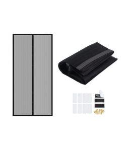 Plasa Usa cu Inchidere Magnetica Magic Mesh pentru Tantari, Muste sau Alte Insecte, Dimensiuni 210x105cm
