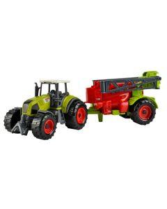 Set 6 piese tractoare si masini agricole pentru copii