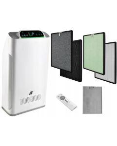 Purificator Filtrare Aer cu Functie de Ionizare si Afisaj LCD pentru Camera 38mp, 5 Filtre, Telecomanda, Eficienta 320 mc/h, Putere 80W