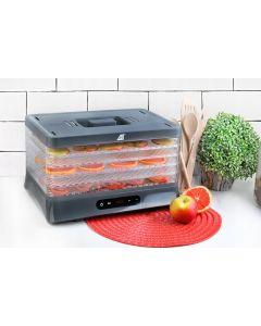 Aparat deshidratat fructe sau legume pe 5 nivele, putere 500W cu afisaj cronometru si reglaj temperatura