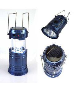 Lampa Solara LED Portabila pentru Camping si Drumetii, Putere 10W