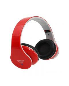 Casti Audio Stereo cu Bluetooth, Radio FM, Redare MP3, Card microSD, USB, Negru