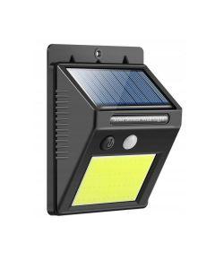 Lampa Solara de Perete cu 24 LED-uri si Senzor de Lumina, 600 Lumeni