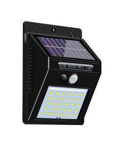 Lampa Solara de Perete cu 30 LED-uri si Senzor de Lumina, 600 Lumeni