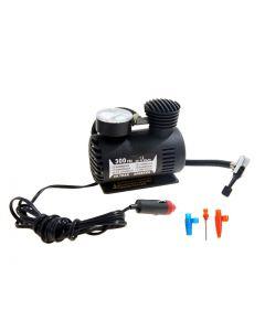 Mini compresor aer cu manomentru mecanic 300 PSI, priza auto 12V
