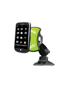 Suport auto GripGo universal pentru telefoane, GPS, tablete cu rotire 360 grade