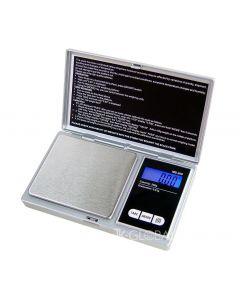 Mini cantar electronic de buzunar cu afisaj LCD, capacitate pana la 200g, precizie de 0.01g