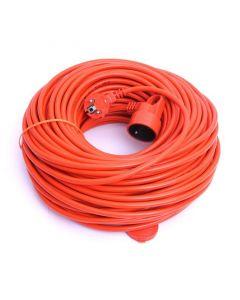 Cablu Prelungitor cu Stecher si Priza cu Impamantare si Protectie, Lungime 30m