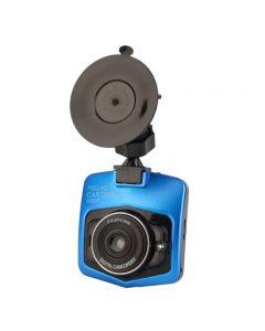 Camera video auto DVR Full HD 1080P cu LED pentru filmare nocturna, culoare Albastru/Negru