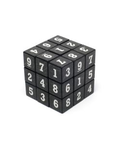 Joc Cub Sudoku cu Cifre pentru Copii si Adulti, Culoare Negru