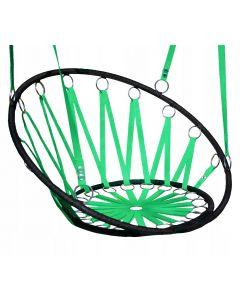 Scaun tip Leagan Suspendat pentru Terasa sau Gradina, Capacitate 100kg, Culoare Verde