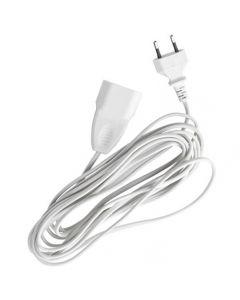 Cablu Prelungitor, Lungime 5m, Ideal pentru Instalatiile de Craciun Legate in Serie