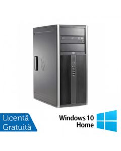 Calculator Reconditionat HP 6200 Pro Mt Tower Intel Core i3-2100 3.10GHz 4GB DDR3 500GB HDD DVD-ROM + Windows 10 Home