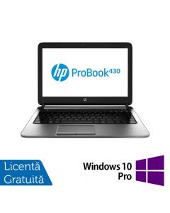 Laptop Reconditionat HP ProBook 430 G1 Intel Celeron Dual Core 2955U 1.4GHz 4GB DDR3 320GB SATA + Windows 10 Pro