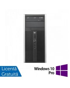 Calculator Reconditionat HP 6300 Pro MT Intel Pentium Dual Core G640 2.80GHz 4GB DDR3 320GB SATA DVD-RW + Windows 10 Pro