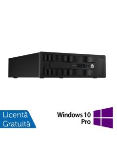 Calculator Reconditionat HP Prodesk 600G1 SFF Intel Core i3-4130 3.40GHz 8GB DDR3 500GB SATA DVD-RW + Windows 10 Pro