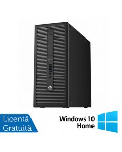 Calculator Reconditionat HP EliteDesk 800 G1 Tower Intel Core i3-4130 3.40GHz 8GB DDR3 500GB SATA DVD-RW + Windows 10 Home