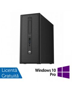 Calculator Reconditionat HP EliteDesk 800 G1 Tower Intel Core i3-4130 3.40GHz 8GB DDR3 500GB SATA DVD-RW + Windows 10 Pro