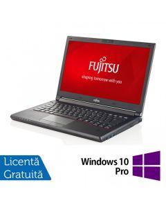 Laptop Reconditionat FUJITSU SIEMENS Lifebook E544 Intel Core i3-4000M 2.40GHz 4GB DDR3 500GB HDD 14 Inch + Windows 10 Pro