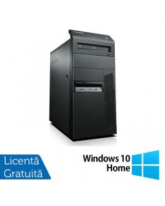 Calculator Reconditionat Lenovo Thinkcentre M91p Tower Intel Core i7-2600 3.40GHz up to 3.80GHz 4GB DDR3 120GB SSD DVD-RW + Windows 10 Home