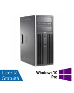 Calculator Reconditionat HP 6200 Pro Tower Intel Core i7-2600 3.40GHz up to 3.80GHz 4GB DDR3 320GB SATA DVD-RW + Windows 10 Pro