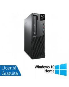 Calculator Reconditionat LENOVO Thinkcentre M91P SFF Intel Core i5-2400 3.10GHz up to 3.40GHz 4GB DDR3 250GB HDD DVD-ROM + Windows 10 Home
