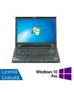 Laptop Reconditionat LENOVO T410 Intel Core i5-520M 2.40GHz up to 2.93GHz 4GB DDR3 320GB SATA DVD-RW 14.1 Inch + Windows 10 Pro