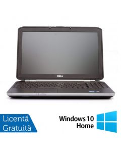 Laptop Reconditionat DELL Latitude E5520 Intel Core i5-2430M 2.40GHz up to 3.00 GHz 4GB DDR3 250GB SATA 15 Inch Tastatura Numerica + Windows 10 Home