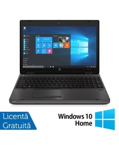 Laptop Reconditionat HP ProBook 6570b Intel Core i3-3120M 2.50GHz 4GB DDR3 320GB SATA DVD-RW 15.6 inch LED Webcam Tastatura numerica + Windows 10 Home