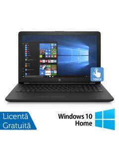 Laptop HP 15-BS289WM Intel Pentium Silver N5000 1.10GHz 4GB DDR4 1TB HDD 15.6 Inch Touchscreen LED + Windows 10 Home + BONUS Geanta Notebook bag Logic Basic 15.6''