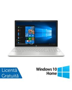 Laptop HP Pavilion 15-CS0056OD Intel Core i5-8250U 1.60GHz 12GB DDR4 1TB SATA Intel UHD Graphics 620 Card Reader 15.6 Inch HD BrightView Display Windows 10 Home + BONUS Licenta retail Bitdefender Antivirus Plus 2019 noua valabila pentru 1 an, 3 dispozitiv