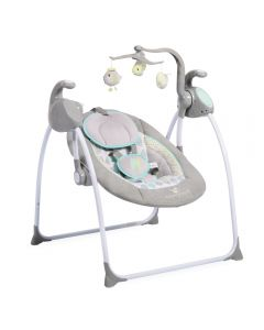 Leagan electric cu conectare la priza Sweet Star+ Grey