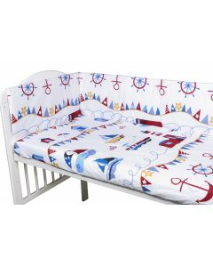 Aparatori laterale pentru pat Micul Marinar