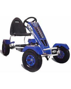 Kart cu pedale pentru copii Full Ahead Blue