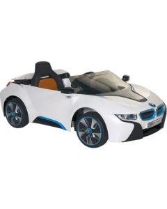 Masinuta electrica BMW I8 Alb cu telecomanda
