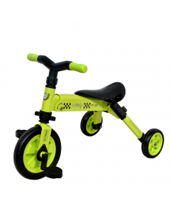 Tricicleta 2 in 1 Dhs B-Trike Green