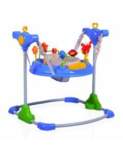 Saritor ajustabil pentru copii Jumper Vista Blue