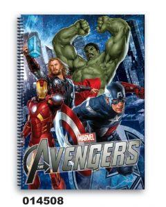 Caiet spira A5 The Avengers