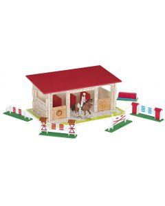 Set figurine Papo - Boxa cai carton+2 figurine
