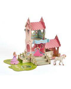 Set Figurine Papo-Castel+3 figurine