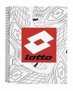 Caiet cu spira A4-120 de file colectia Lotto2