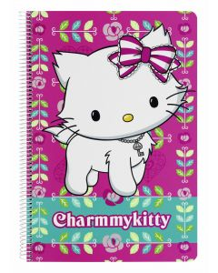Caiet plastifiat 80 file Charmmy Kitty