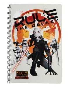 Caiet cu spira A4 Star Wars Rebels