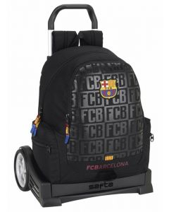 Ghiozdan 662 cu troler Evolution F.C. BARCELONA BLACK